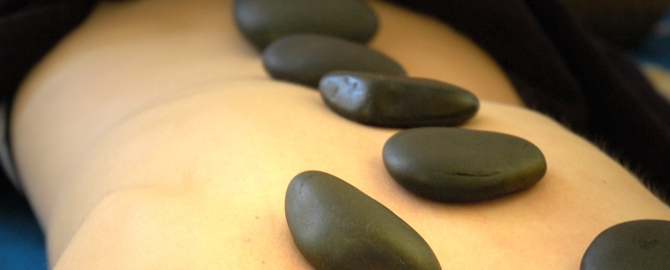 ISS Hot Stone Massage